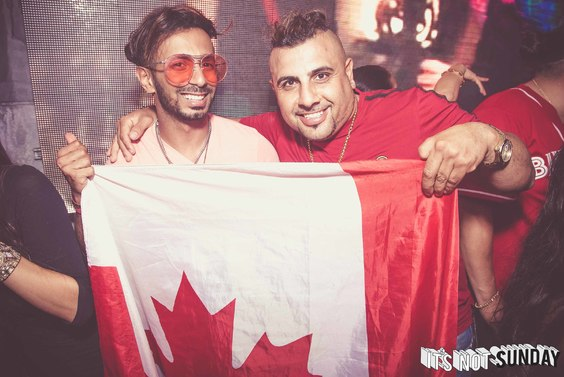 It's Not Sunday: It's Not A Canada Day Party