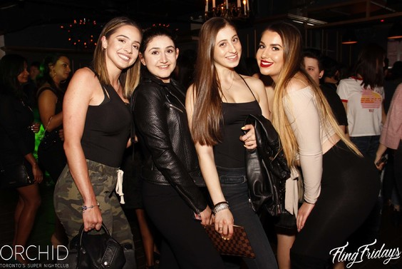 Fridays Orchid Nightlub Toronto Nightlife Bottle Service 002