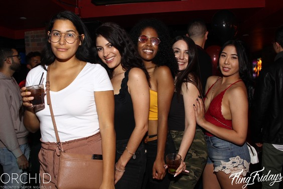 Fridays Orchid Nightclub Toronto Nightlife Bottle service 000