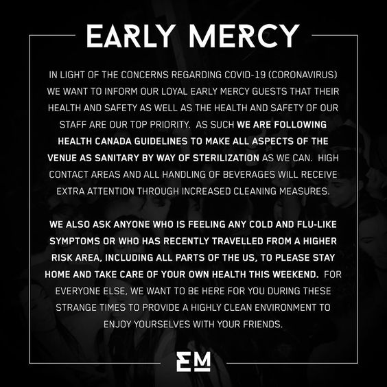Early Mercy