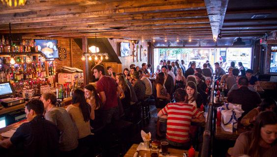 Toronto the pro strip cafe