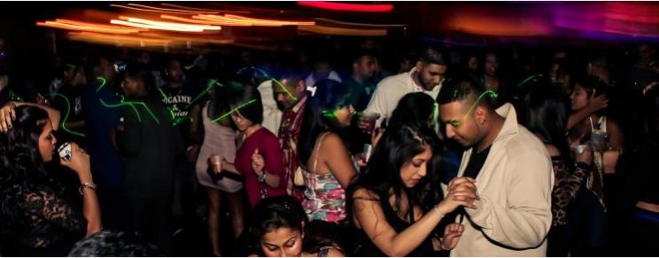 Indian night clubs in brampton
